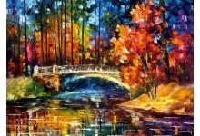 Течение под мостом