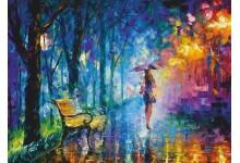 Зонт в туманной дымке