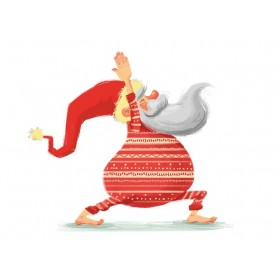 Дед Мороз (красный)