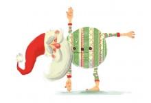 Дед Мороз (зеленый)