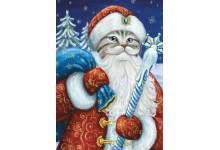 Котик Дед Мороз