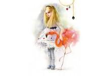 Алиса и розовый фламинго