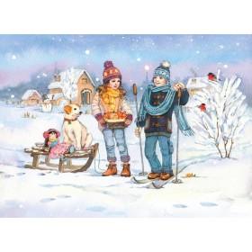 Прогулка под первым снегом