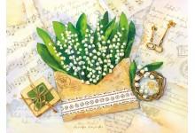 Благоухание весны (ландыши)