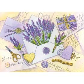 Письма с ароматом лаванды