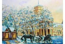Зимний вечер / Минск.Ратуша