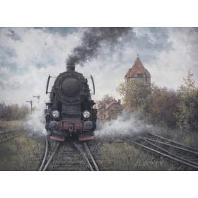 Осень на станции