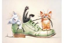 Были у хозяина новые ботинки...