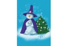 Снежный волшебник
