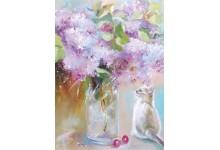 Tender Lilac Morning
