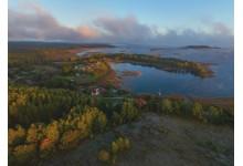 Острова на озере Снуды