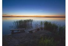 Короткая летняя ночь на озере Освейское