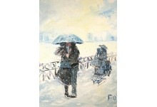 Зонтик и саночки