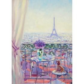 Балкон в Париж