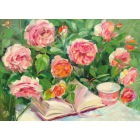 Стихи навеет запах роз...