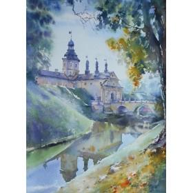 Несвижский замок в сентябре (ЮНЕСКО)