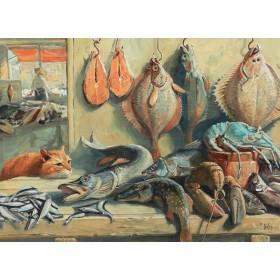 В рыбной лавке