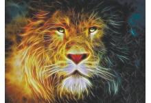 Фрактальный лев