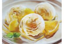 Мороженое с лимоном