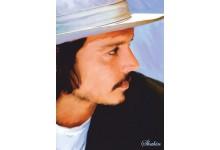 Джонни Депп (в шляпе)