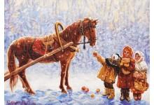 Морозные яблочки