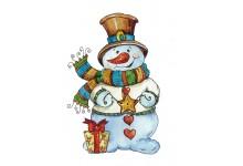 Звездочка снеговичка