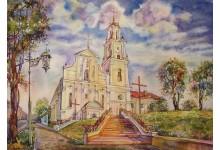 Гродно. Костел Обретения Святого Креста / Бернардинский костел