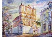 Гродно. Костел Благовещения Пресвятой Девы Марии / Бригитский костел