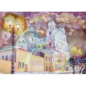 Гродно. Кафедральный собор св. Франциска Ксаверия (Фарный костел)