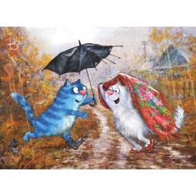 Почтовый роман. Ты, я и зонтик