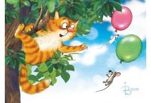 Летят по небу шарики